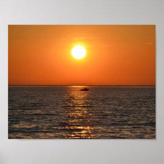 Lake Ontario Sunset Poster