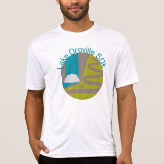 Lake Oroville 50k Microfiber shirt - circle logo