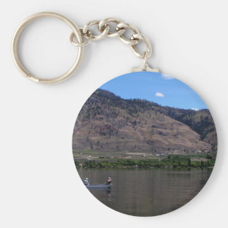 Lake Osoyoos, BC, Canada Basic Round Button Keychain