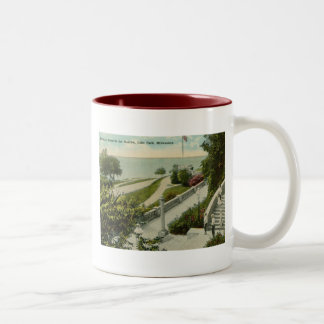 Lake Park, Milwaukee Vintage Two-Tone Coffee Mug