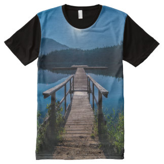 Lake - Pathway All-Over-Print T-Shirt