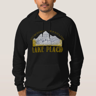 Lake Placid Hoodie Adirondack Mountains
