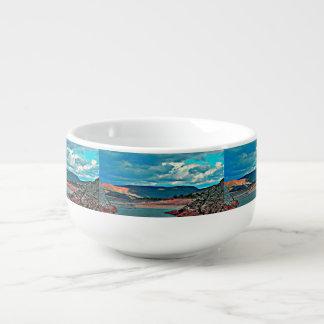 Lake Pleasant Boat Ramp Soup Mug