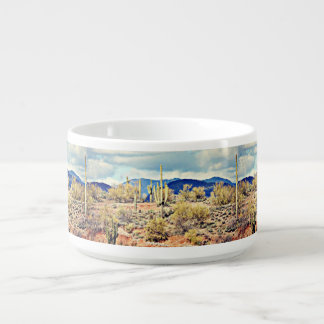 Lake Pleasant Saguaro Landscape Chili Mug