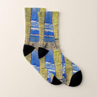 Lake Pleasant Saguaro Pillars Socks 1