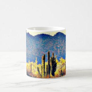 Lake Pleasant Saguaros Coffee Mug