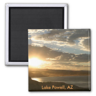 Lake Powell AZ at sunset Magnet