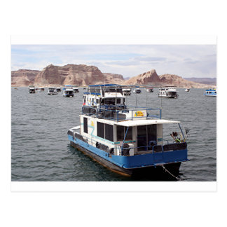Lake Powell Houseboat, Arizona, USA 2 Postcard