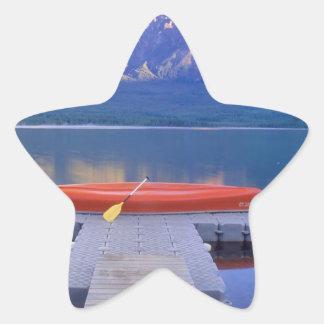 Lake Pyramid Jasper Park Alberta Canada Sticker