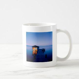 Lake Quiet Getaway Tahoe Nevada Basic White Mug