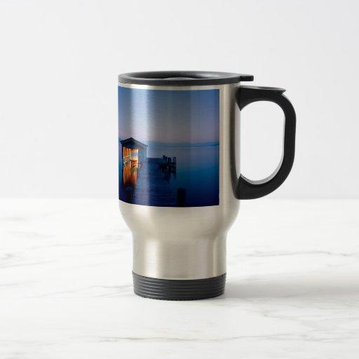 Lake Quiet Getaway Tahoe Nevada Coffee Mugs