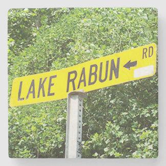 Lake Rabun, Road Sign, Georgia, Coaster