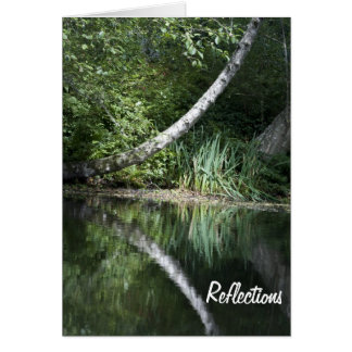 Lake Reflection Card