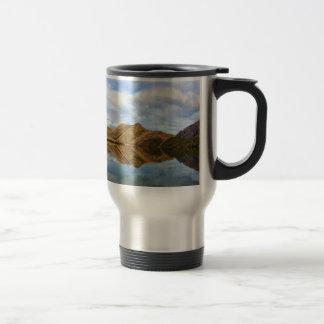 Lake Reflection Travel Mug