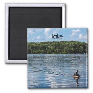 Lake Refrigerator Magnet