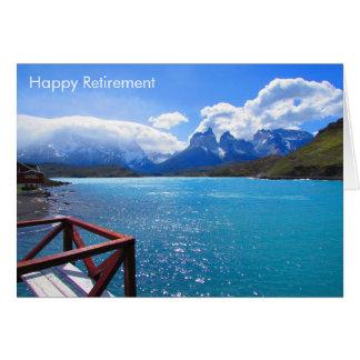 lake retirement card