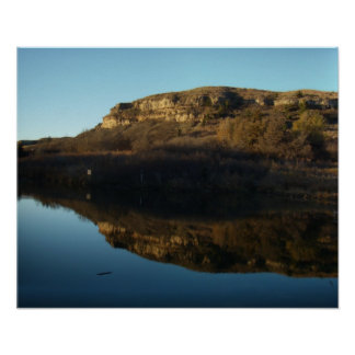 Lake Scott Reflections 10-31-09 Poster