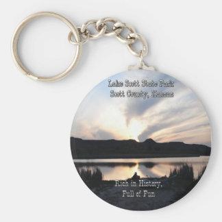 Lake Scott State Park-4 Keychain