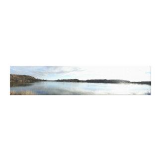 Lake Scott State Park Kansas Panoramic Canvas Prints