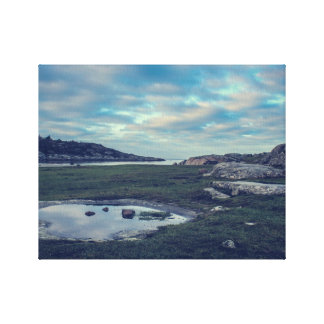Lake Sea Mirror Canvas Print