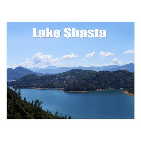 Lake Shasta in Redding, California Postcard
