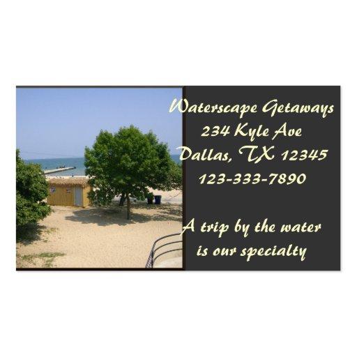 Lake Shores Getaway! Business Card