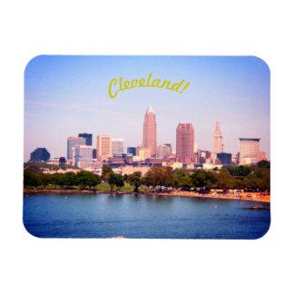 Lake Skyline (Cleveland OH) Magnet
