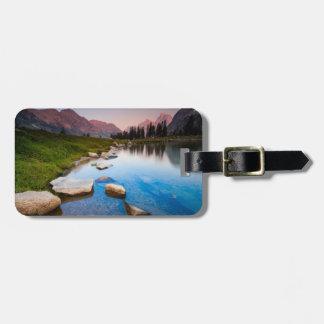 Lake Solitude Luggage Tag