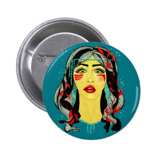 Lake Spirit 2 Inch Round Button