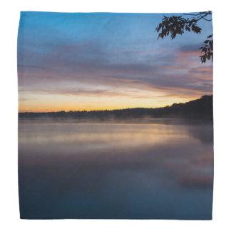 Lake Springfield Autumn Sunrise Bandana