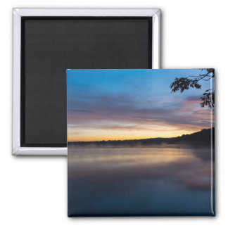 Lake Springfield Autumn Sunrise Magnet