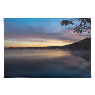 Lake Springfield Autumn Sunrise Placemat