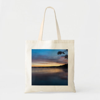 Lake Springfield Autumn Sunrise Tote Bag