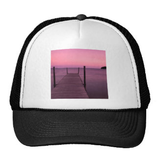 Lake Still Waters Dusk Mesh Hat