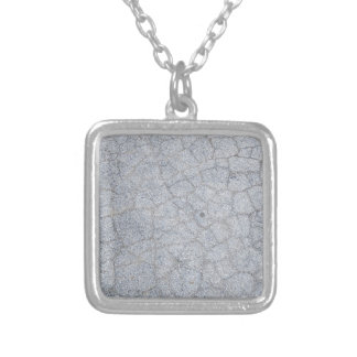 Lake Stone Silver Plated Necklace