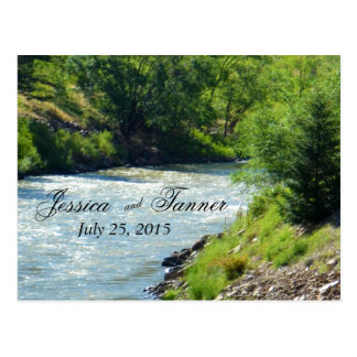 Lake Stream Nature Photography RSVP Postcard