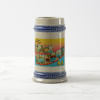 Lake Sunapee New Hampshire NH Old Travel Souvenir Beer Stein