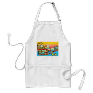 Lake Sunapee New Hampshire NH Old Travel Souvenir Standard Apron