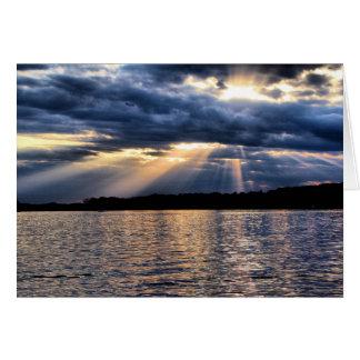 Lake Sunbeams Card