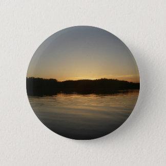 Lake Sunset Button