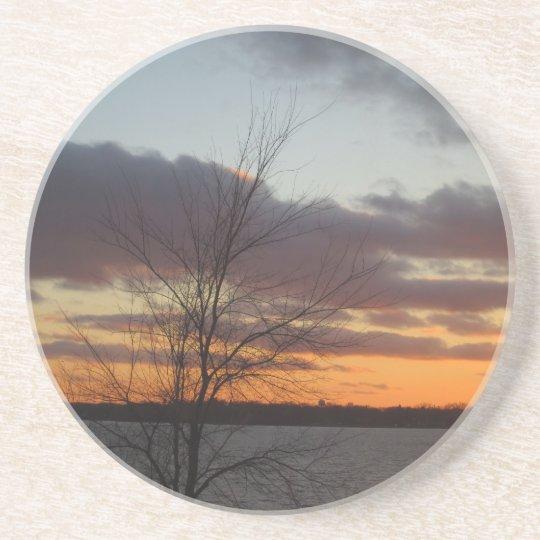 Lake Sunset Coaster