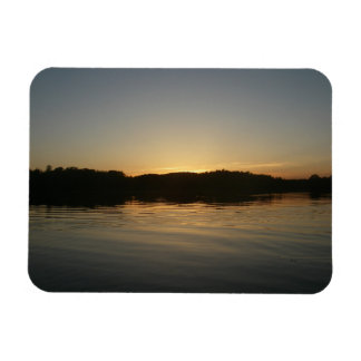 Lake Sunset Flexible Photo Magnet