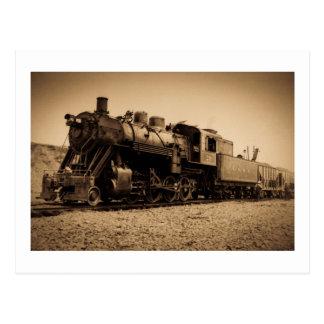 Lake Superior & Ishpeming Railroad #20 Sepia Postcard