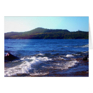 Lake Superior Landscape Card