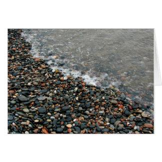 Lake Superior Pebbles Card