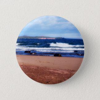 Lake Superior Shoreline 2 Inch Round Button