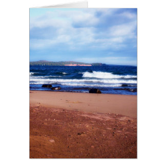 Lake Superior Shoreline Card