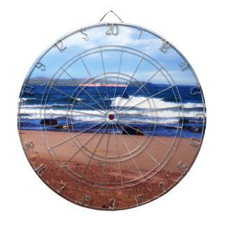 Lake Superior Shoreline Dartboard