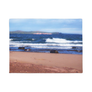 Lake Superior Shoreline Doormat