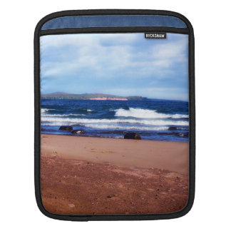 Lake Superior Shoreline iPad Sleeve